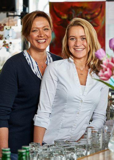 """Bild von Miranda und Juliette Schulz, ABC Café - Die Schirmbar, Kamp-Lintfort für """"Leckerbuntes Deutschland"""""""""""