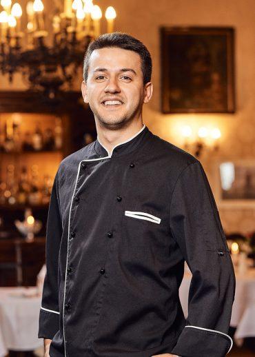 Das Bild zeigt Josip Pavosevic, Restaurant im Hotel van Bebber, Xanten.
