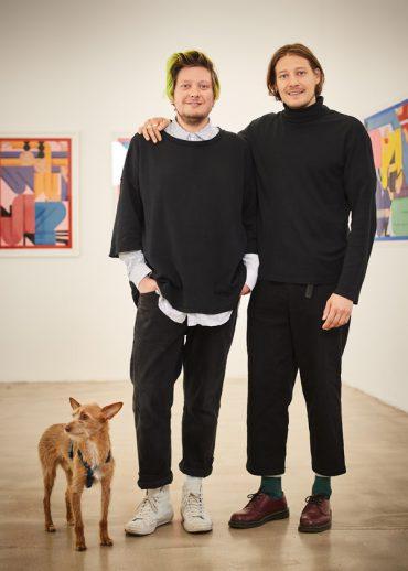 LeckerBuntes Deutschland   Lucio und Massimiliano Lupacchini, Düsseldorf